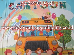 Wallpaper Cartoon Rp 289.000/roll