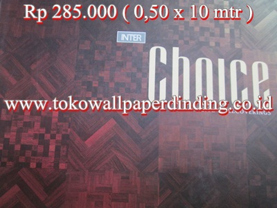Wallpaper Inter Choice Rp 285.000/roll