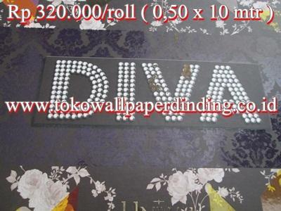 Wallpaper DIVA Rp 320.000/roll