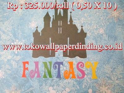 Wallpaper Anak Fantasi Rp  325.000/roll
