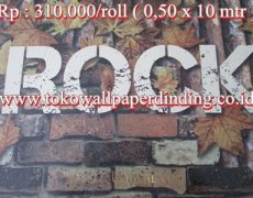 Wallpaper Rock Rp 310.000/roll