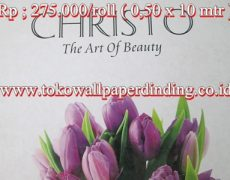 Wallpaper Cristo Rp 275.000/roll