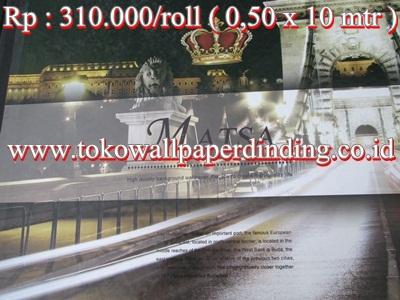Wallpaper Matsa Rp 310.000/roll
