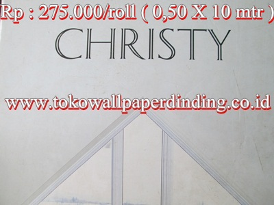 Wallpaper Cristy Rp 275.000/roll