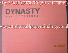 Wallpaper Dinasty Rp 275.000/roll