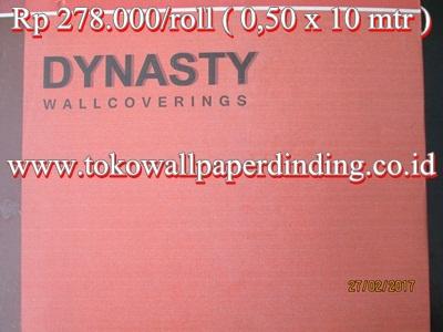 Wallpaper Dinasty Rp 275.000/roll