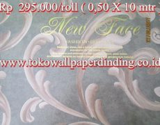 Wallpaper New Face Rp 265.000/roll