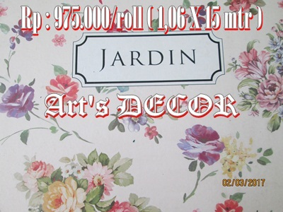 Wallpapr Jardin Rp 975.000/roll