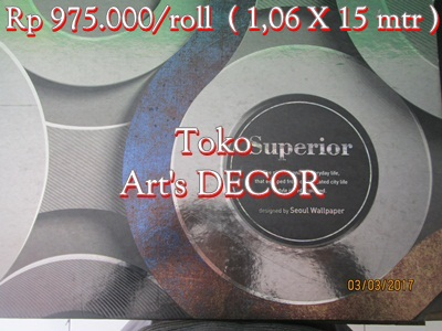 Wallpaper Superior Rp 975.000/roll