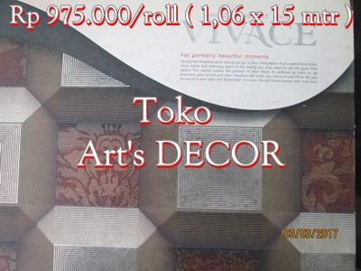 Wallpaper Vivace Rp 975.000/roll