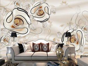 Pasang Wallpaper Dinding Murah